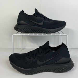 NEW Nike epic react flyknit 2 running shoes black